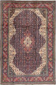 Saruk Dywan 200X305 Orientalny Tkany Ręcznie Ciemnoszary/Ciemnoczerwony (Wełna, Persja/Iran)