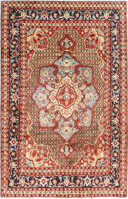 Koliai Dywan 198X308 Orientalny Tkany Ręcznie Ciemnoczerwony/Ciemnobrązowy (Wełna, Persja/Iran)