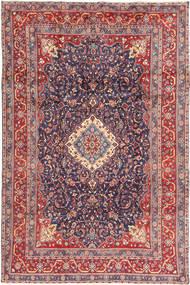 Hamadan Shahrbaf Dywan 205X316 Orientalny Tkany Ręcznie Ciemnoszary/Rdzawy/Czerwony (Wełna, Persja/Iran)