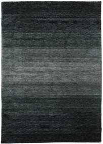 Gabbeh Rainbow - Szary Dywan 160X230 Nowoczesny Czarny/Ciemnoszary (Wełna, Indie)