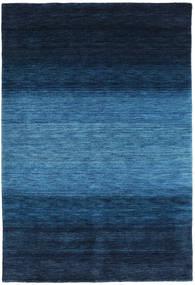 Gabbeh Rainbow - Niebieski Dywan 160X230 Nowoczesny Ciemnoniebieski/Niebieski (Wełna, Indie)