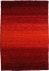 Gabbeh Rainbow - Czerwony Dywan 160X230 Nowoczesny Rdzawy/Czerwony/Ciemnoczerwony/Ciemnobrązowy (Wełna, Indie)