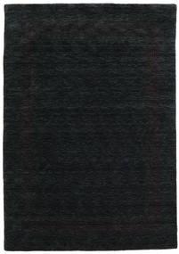 Handloom Gabba - Czarny/Szary Dywan 160X230 Nowoczesny Czarny (Wełna, Indie)