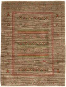 Gabbeh (Persja) Dywan 115X150 Nowoczesny Tkany Ręcznie Brązowy/Jasnobrązowy (Wełna, Persja/Iran)