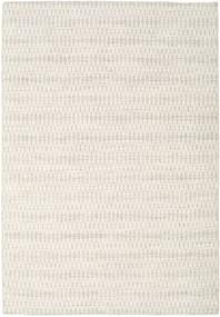 Kilim Long Stitch - Beżowy Dywan 160X230 Nowoczesny Tkany Ręcznie Jasnoszary/Beżowy (Wełna, Indie)