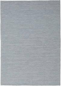 Kilim Honey Comb - Niebieski Dywan 240X340 Nowoczesny Tkany Ręcznie Jasnoszary/Jasnoniebieski (Wełna, Indie)
