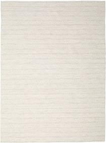 Kilim Long Stitch - Beżowy Dywan 290X390 Nowoczesny Tkany Ręcznie Jasnoszary/Beżowy Duży (Wełna, Indie)