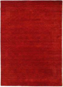 Loribaf Loom Beta - Czerwony Dywan 140X200 Nowoczesny Rdzawy/Czerwony/Ciemnoczerwony (Wełna, Indie)