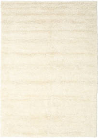 Stick Saggi - Off-White Dywan 250X350 Nowoczesny Tkany Ręcznie Beżowy/Biały/Creme Duży (Wełna, Indie)