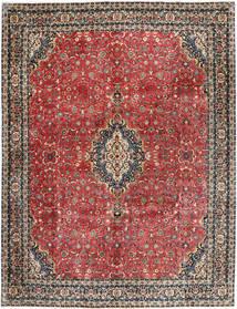 Bidżar Z Dodatkiem Jedwabiu Dywan 297X385 Orientalny Tkany Ręcznie Ciemnoczerwony/Ciemnoszary Duży (Wełna/Jedwab, Persja/Iran)