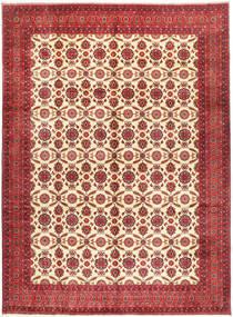 Afgan Khal Mohammadi Dywan 295X395 Orientalny Tkany Ręcznie Ciemnoczerwony/Rdzawy/Czerwony Duży (Wełna, Afganistan)
