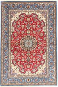 Isfahan Jedwabna Osnowa Dywan 152X227 Orientalny Tkany Ręcznie Jasnofioletowy/Brązowy (Wełna/Jedwab, Persja/Iran)