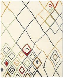 Berber Indie - Off-White/Multi Dywan 240X300 Nowoczesny Tkany Ręcznie Beżowy/Biały/Creme (Wełna, Indie)