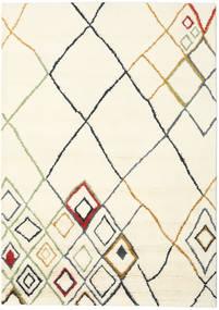 Berber Indie - Off-White/Multi Dywan 210X290 Nowoczesny Tkany Ręcznie Beżowy/Biały/Creme (Wełna, Indie)