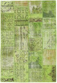 Patchwork Dywan 161X238 Nowoczesny Tkany Ręcznie Jasnozielony/Zielony/Oliwkowy (Wełna, Turcja)