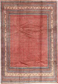 Saruk Mir Dywan 213X305 Orientalny Tkany Ręcznie Ciemnoczerwony/Rdzawy/Czerwony (Wełna, Persja/Iran)