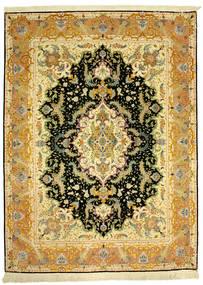 Tebriz 70Raj Silke Varp Dywan 152X205 Orientalny Tkany Ręcznie (Wełna/Jedwab, Persja/Iran)