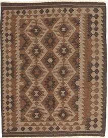 Kilim Maimane Dywan 148X187 Orientalny Tkany Ręcznie Brązowy/Ciemnobrązowy (Wełna, Afganistan)