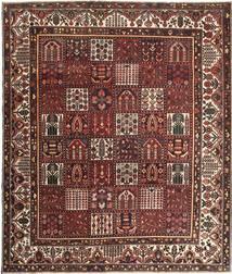 Baktjar Patina Dywan 278X330 Orientalny Tkany Ręcznie Ciemnoczerwony/Brązowy Duży (Wełna, Persja/Iran)