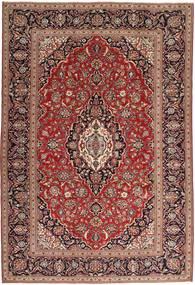 Keszan Patina Dywan 244X360 Orientalny Tkany Ręcznie Ciemnoczerwony/Ciemnobrązowy (Wełna, Persja/Iran)