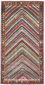Baktjar Patina Dywan 100X198 Orientalny Tkany Ręcznie Beżowy/Ciemnobrązowy (Wełna, Persja/Iran)