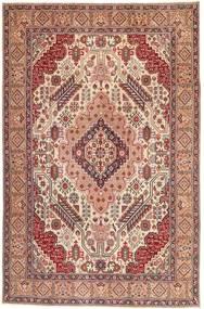 Tebriz Patina Dywan 195X300 Orientalny Tkany Ręcznie Jasnobrązowy/Jasnoróżowy (Wełna, Persja/Iran)
