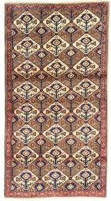 Koliai Dywan 100X187 Orientalny Tkany Ręcznie Brązowy/Ciemnoczerwony/Beżowy (Wełna, Persja/Iran)