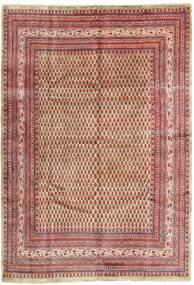 Saruk Mir Dywan 215X315 Orientalny Tkany Ręcznie Ciemnoczerwony/Beżowy (Wełna, Persja/Iran)