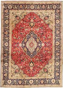 Tebriz Dywan 246X338 Orientalny Tkany Ręcznie Ciemnoczerwony/Ciemnobrązowy (Wełna, Persja/Iran)
