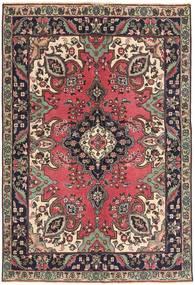 Tebriz Patina Dywan 142X204 Orientalny Tkany Ręcznie Ciemnobrązowy/Ciemnoczerwony (Wełna, Persja/Iran)