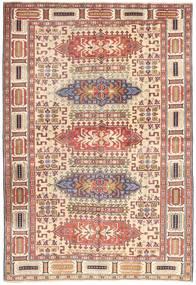 Ardabil Patina Dywan 138X200 Orientalny Tkany Ręcznie Ciemnoczerwony/Beżowy (Wełna, Persja/Iran)