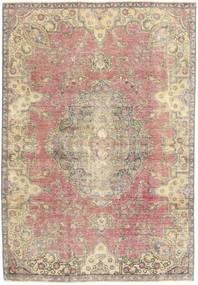 Colored Vintage Dywan 184X264 Nowoczesny Tkany Ręcznie Beżowy/Jasnoszary (Wełna, Persja/Iran)