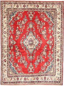 Hamadan#Shahrbaf Dywan 213X288 Orientalny Tkany Ręcznie Ciemnobeżowy/Rdzawy/Czerwony (Wełna, Persja/Iran)