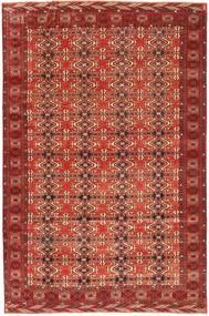 Turkmeński Patina Dywan 210X316 Orientalny Tkany Ręcznie Ciemnoczerwony (Wełna, Persja/Iran)