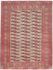 Turkmeński Patina Dywan 131X177 Orientalny Tkany Ręcznie Ciemnoczerwony/Brązowy (Wełna, Persja/Iran)