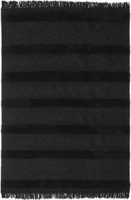 Kilim Berber Ibiza - Sadza Dywan 300X400 Nowoczesny Tkany Ręcznie Czarny Duży (Wełna, Indie)