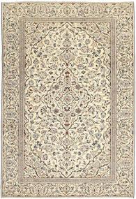 Keszan Patina Dywan 229X333 Orientalny Tkany Ręcznie Jasnoszary/Ciemnobeżowy (Wełna, Persja/Iran)