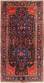 Koliai Dywan 156X293 Orientalny Tkany Ręcznie Chodnik Ciemnoczerwony/Ciemnoszary (Wełna, Persja/Iran)