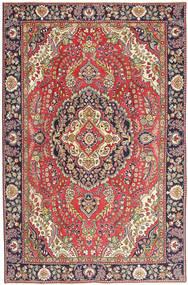 Tebriz Patina Dywan 190X290 Orientalny Tkany Ręcznie Brązowy/Beżowy (Wełna, Persja/Iran)
