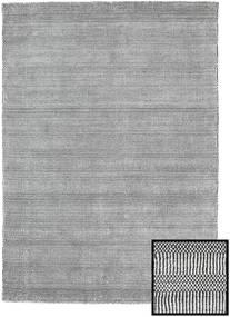 Bamboo Grass - Black_ Szary Dywan 140X200 Nowoczesny Jasnoszary/Ciemnoszary (Wełna/Jedwab Bambusowy, Turcja)