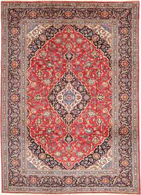 Keszan Dywan 250X340 Orientalny Tkany Ręcznie Rdzawy/Czerwony/Brązowy Duży (Wełna, Persja/Iran)