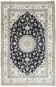 Nain Dywan 201X314 Orientalny Tkany Ręcznie Jasnoszary/Ciemnoszary (Wełna, Persja/Iran)