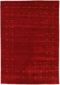 Loribaf Loom Delta - Czerwony Dywan 160X230 Nowoczesny Ciemnoczerwony/Rdzawy/Czerwony (Wełna, Indie)