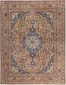 Keszan Patina Dywan 292X385 Orientalny Tkany Ręcznie Ciemnobrązowy/Ciemnoczerwony Duży (Wełna, Persja/Iran)