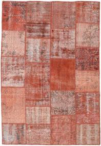 Patchwork Dywan 158X231 Nowoczesny Tkany Ręcznie Ciemnoczerwony/Jasnoróżowy (Wełna, Turcja)