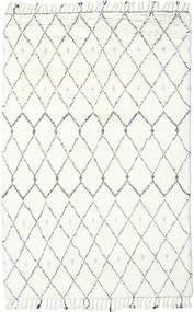 Sauda - Natural Szary Dywan 200X300 Nowoczesny Tkany Ręcznie Beżowy/Biały/Creme (Wełna, Indie)