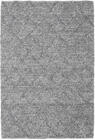 Rut - Ciemnoszary Melange Dywan 160X230 Nowoczesny Tkany Ręcznie Jasnoszary/Ciemnobrązowy (Wełna, Indie)