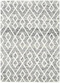 Hudson - Melange Czarny Dywan 170X240 Nowoczesny Jasnoszary/Beżowy (Wełna, Indie)