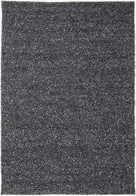 Bubbles - Melange Czarny Dywan 250X350 Nowoczesny Ciemnoszary Duży (Wełna, Indie)