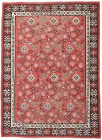 Kilim Rosyjski Dywan 230X312 Orientalny Tkany Ręcznie Rdzawy/Czerwony/Ciemnoczerwony (Wełna, Azerbejdżan/Rosja)